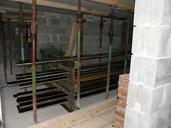 80/365 - Luftgetrocknet (rudi_valtiner) Tags: constructionarea keller baustelle glaze planks cellar bretter project365 flatz lasur