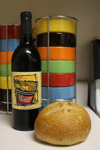 Farm Share wine & bread