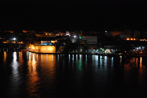 Old San Juan by night