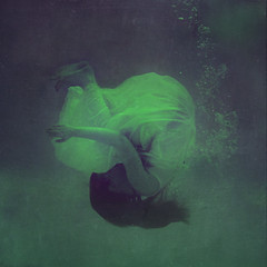 in an ocean of birth (brookeshaden) Tags: baby pool sister birth gritty elegant fetal 70mm brookeshaden