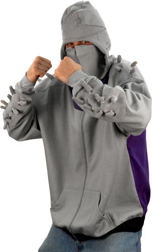 "TMNT ""Shredder"" Hooded Sweatshirt i (( 2009 )) [[ Via 80s Tees , Thanks 2 DON Y. ]]"