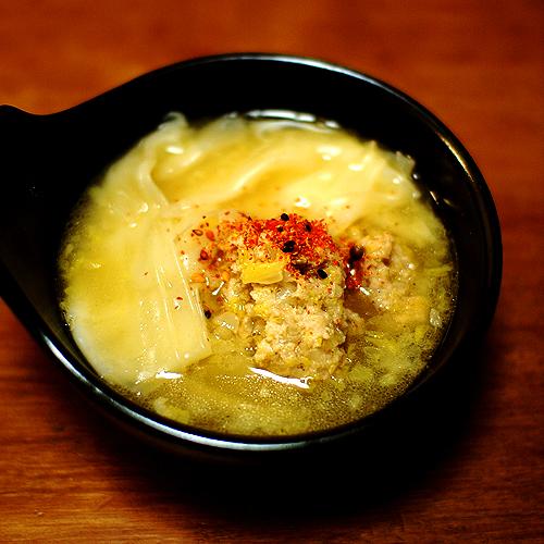ワンタン系スープ