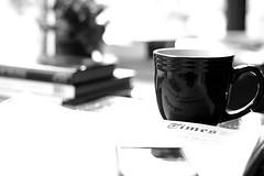 Coffee, Sunday NYT & BB