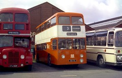 A very early Fleetline (Renown) Tags: buses gm transport lancashire blackpool coaches doubledecker daimler fleetline wigan lut greatermanchester pte selnec fyldecoast northerncounties privatehire coachpark lancashireunited ncme guyarab crg6lx 561td