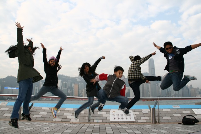 Victoria Harbour Jump shot