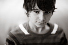 I know you better than you think (Martin Gommel) Tags: boy portrait people face look lines hair nose eyes expression familie young ears lips teeny pullover img0539jpg