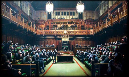 banksy wallpapers. Banksy Wallpaper - Parliament