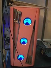 Christmas (50s Car Pink) Computer