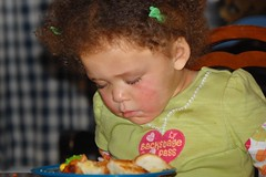 Asleep at the Meal