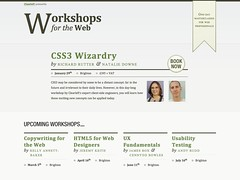 Workshops for the Web homepage