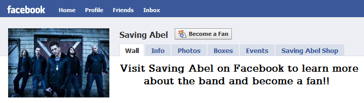 saving abel facebook