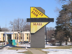 Valley Fair Mall, Appleton, WI (Andrew T...has left the building) Tags: abandoned sign wisconsin mall wi demolished appleton 2010 valleyfairmall