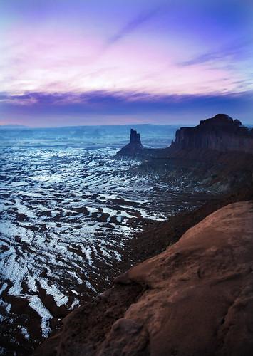 canyonlands cool sky overlook green river