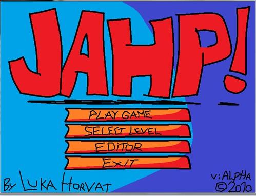 JAHP menu