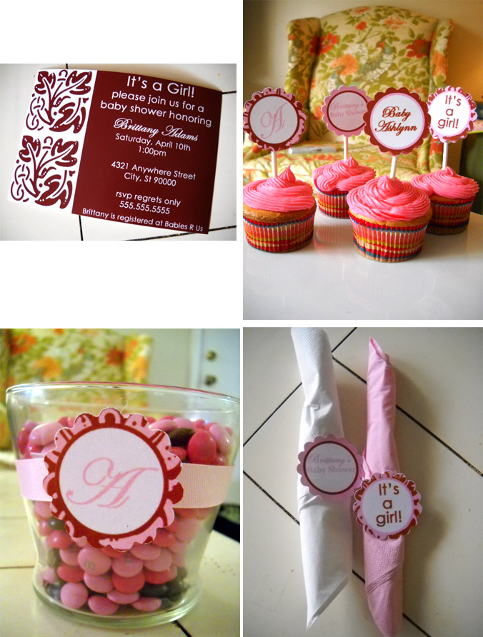 Girl Baby Shower Collection