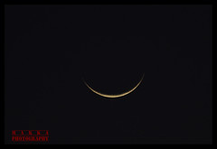 Crescent After First Annular Eclipse in 2010 (Karthick Makka) Tags: moon india eclipse pentax first after chennai tamilnadu 2010 mainroad cresent annular karthick k200d pappanadu makkaphotography