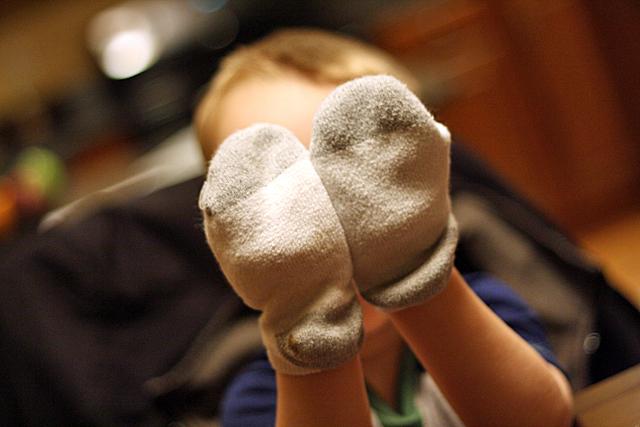 sock hands