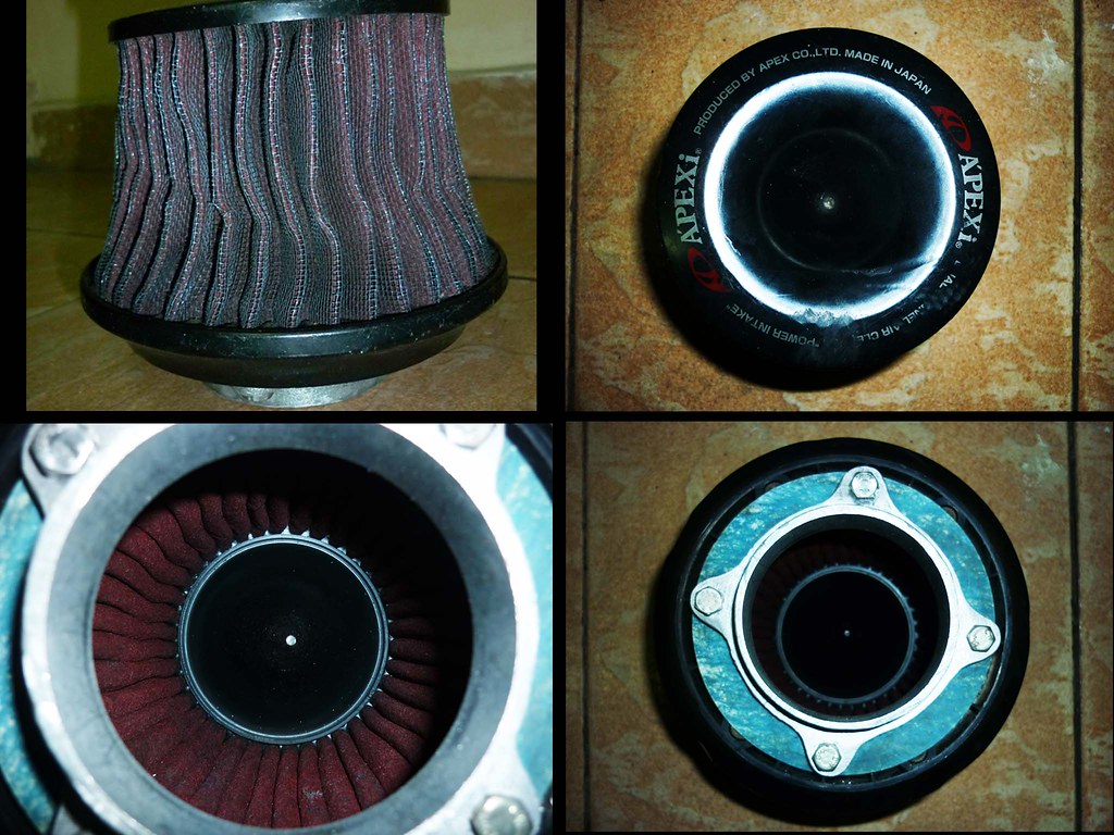 Apexi Dual Tunnel Air Cleaner Power Intake (Air Filter) Rm100 Nego