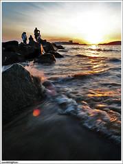 Selamat Petang KK (sam4605) Tags: sunset photographer malaysia borneo kotakinabalu sabah kota kinabalu likasbay likas sabahborneo tanjunglipat teluklikas jurukamera