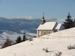 Solitaire (Shrek bácsi) Tags: winter mountain snow church alone ho solitaire templom hegyek hargita