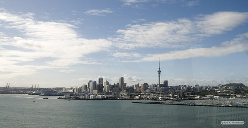 Auckland from the Harbor Bridge