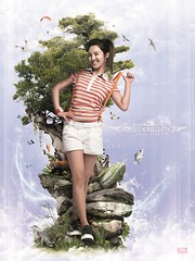 hyoyeon - girls generation (Wilson Cáceres ®) Tags: world girls music woman plants green girl japan photomanipulation book design graphicdesign photo colombia publicidad graphic korea advertisement korean adobe amerika diseño shi generation corean botanica beautifull hangul advanced grafico bucaramanga nyuh udi caceres enviroment kpop reciclable dbsk adove smentertainment wlson 소녀시대 girlsgeneration udiseño 이순규 sment 김효연 snsdhyoyeon naturalcreativestudios kpopcolombia