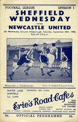 Sheffield Wednesday 1950-51 (TuebrookDave) Tags: sheffieldwednesday footballprogrammes 195051