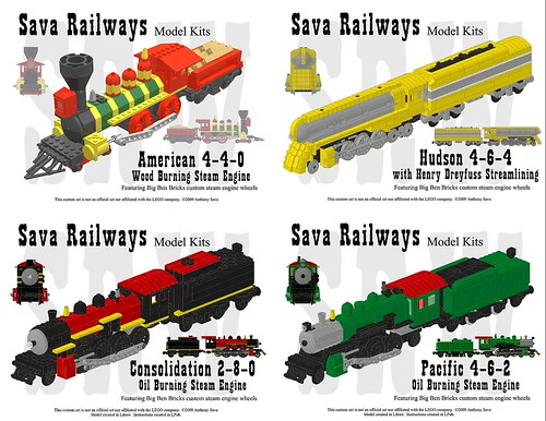Sava Railways Instructions Collection