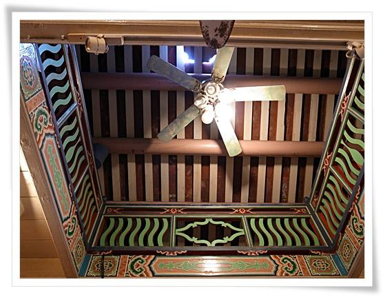 怡古齋美麗的天花板