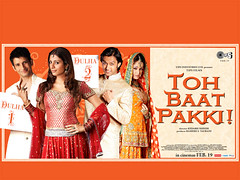 [Poster for Toh Baat Pakki with Toh Baat Pakki, Kedarh Shinde, Tabu, Sharman Joshi, Yuvika, Vatsal Sheth]