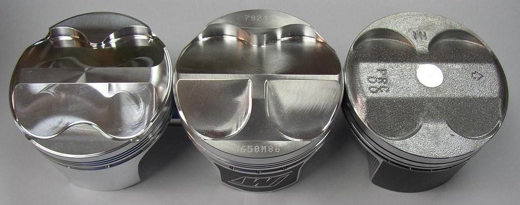 K20A Shelf Pistons Comparison : Driven Crazy