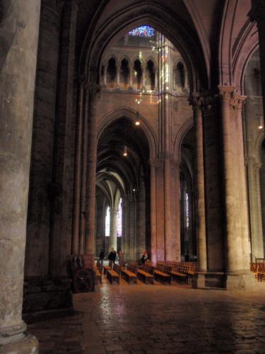 Chartres interior