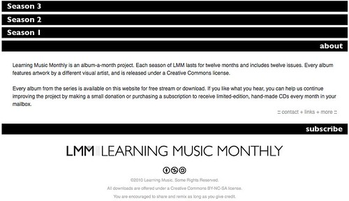 Learning Music Monthly