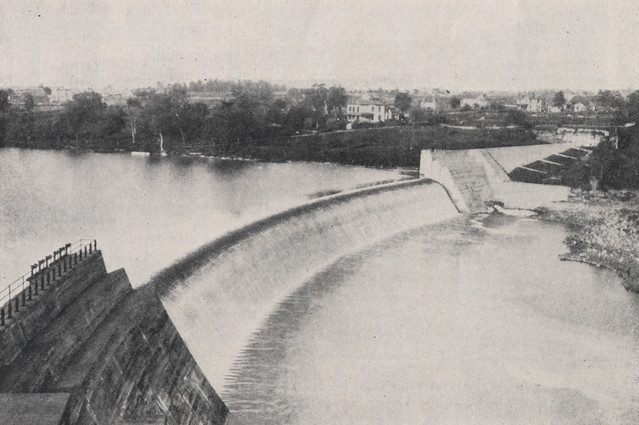 Storage Dam also known as Griggs Dam 1918 by UA Archives  Upper Arlington History