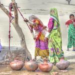 Thari Women.