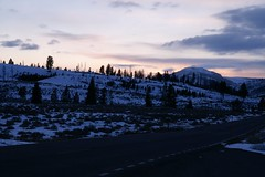 Sunset, Blacktail Deer Plateau (reivax) Tags: winter sunset snow landscape nationalpark yellowstone yellowstonepark