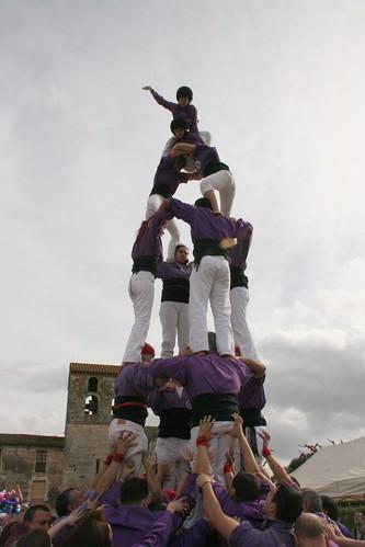 Quatre de sis de la Colla castellera de Figueres