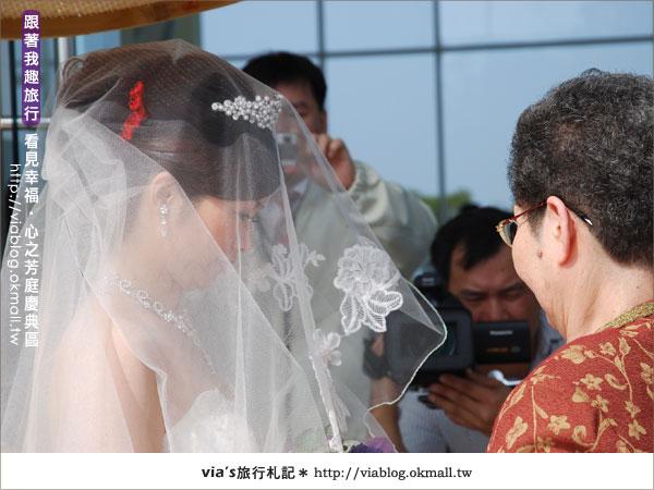 【心之芳庭】幸福婚禮登場~台中心之芳庭慶典區23