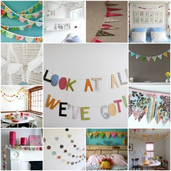Things I Love Thursday:  bunting, garland, banner...whatever you want to call them di {life through the lens}