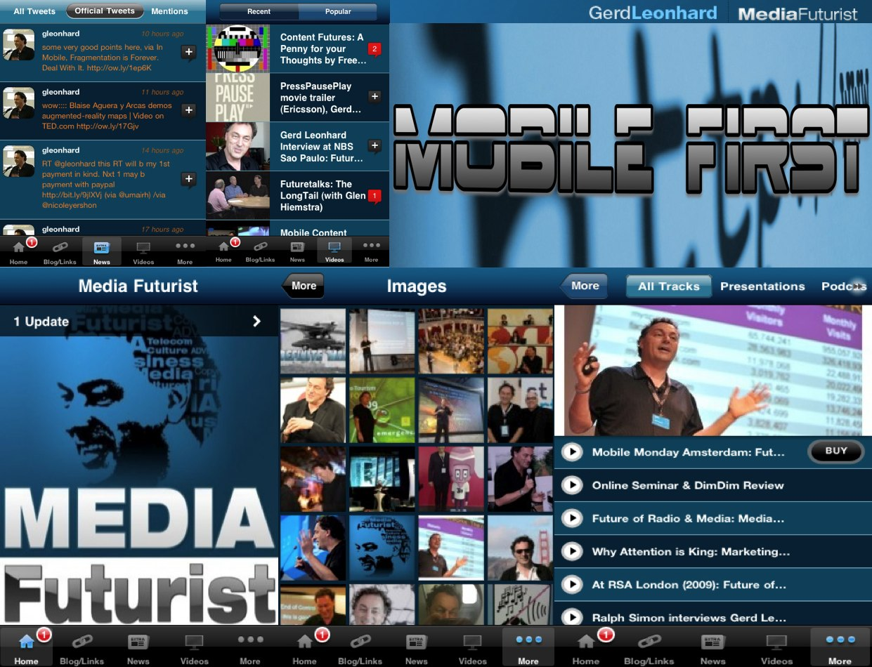 gerd leonhard media futurist iphone app mobile first