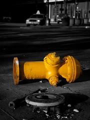 Fallen Hydrant