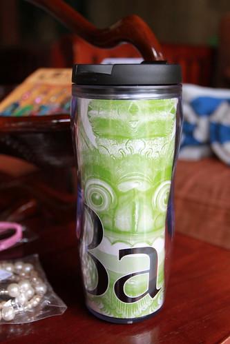 Bali Souvenir part 2: starbucks mug bali (by PipperL)