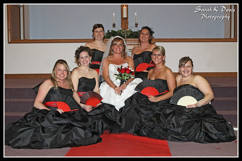 Bride & her ladies