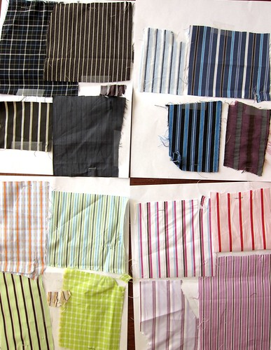 Men's Shirting Swatches