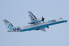 G-JECR - 4139 - FlyBe - De Havilland Canada DHC-8-402Q Dash 8 - Luton - 091221 - Steven Gray - IMG_5500