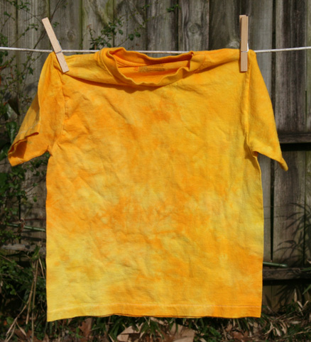 Golden yellows short sleeve tee size youth small