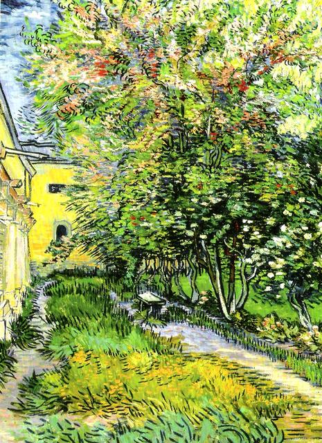 聖雷米療養院的花園