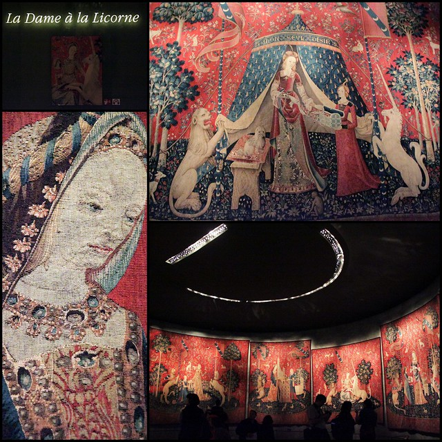 The Lady and the Unicorn, tapestry room