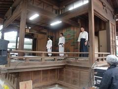 大鳥神社神楽殿演武7
