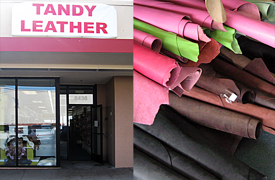 Tandy Leather Shop